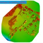 MODÉLISATION 3D / PLAN : GRANGES CHÂTEAU DE CAUMONT
