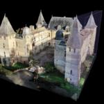 MODELISATION 3D / PLAN : CHÂTEAU DE CAUMONT