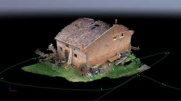 MODÉLISATION 3D / PLAN : LONGÈRE TOULOUSAINE
