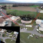 MODÉLISATION 3D / Plan : STATION D'ÉPURATION DOUVAINE