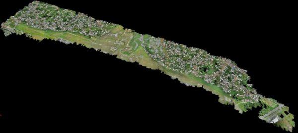 RELEVÉ TOPOGRAPHIQUE PAR DRONE : AÉROPORT LIBREVILLE – GABON